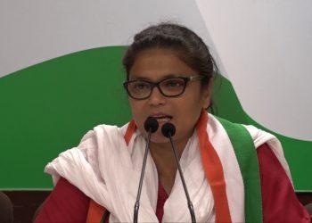 Mahila Congress chief Sushmita Dev