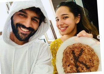 Kartik Aaryan bakes birthday cake for sister amid lockdown