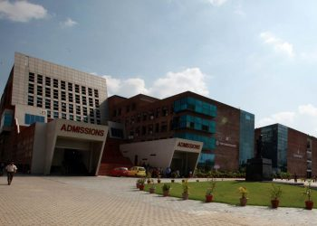 A View of  Lovely Professional University  near Jalandhar Express photo by Renuka Puri 17th june 2013.