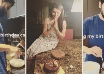 Hubby Naga Chaitanya bakes birthday cake for Samantha; see pics