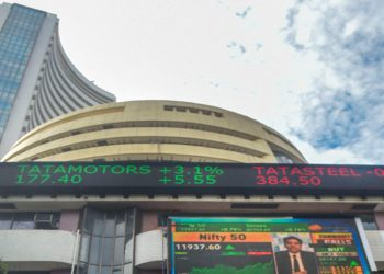 Equities trim gains amid volatility, Sensex up 130 points