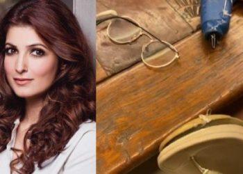 Twinkle Khanna tries to repair broken slipper amid lockdown; video goes viral