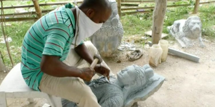 Keonjhar sculpture art dying a slow death amid lockdown