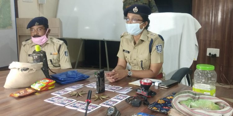 Maoist camp busted in Bargarh