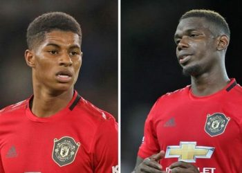 Marcus Rashford (L) and Paul Pogba have recovered from their injuries