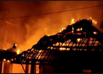 LPG cylinder explosion rocks Keonjhar, 12 houses gutted