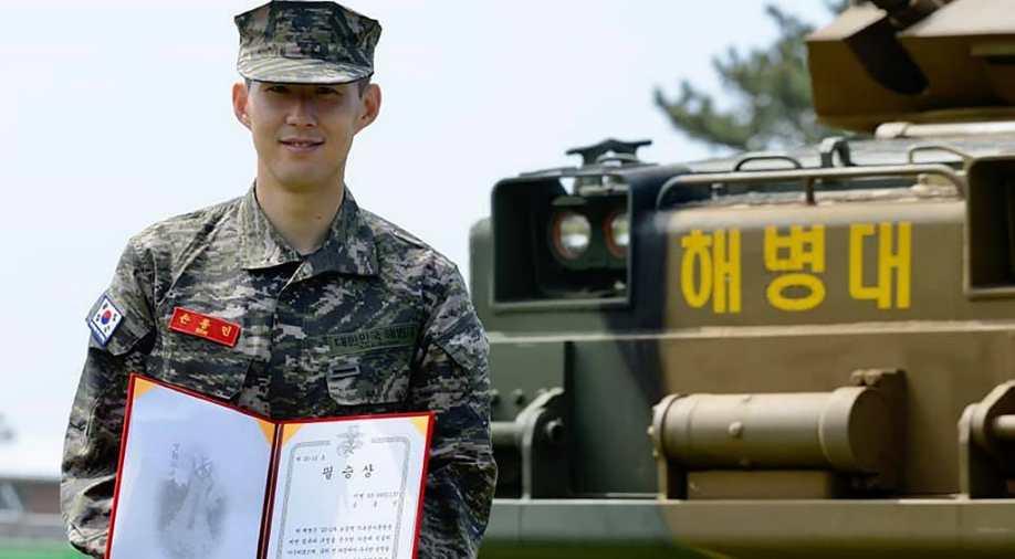 Tottenham Hotspur Hotshot Son Heung-min Earns Military