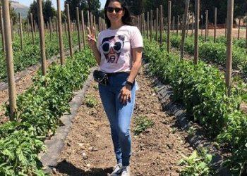 'Baby doll' actress Sunny Leone goes to the farm; see pics