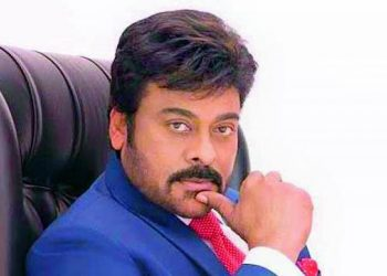 South superstar Chiranjeevi recreates throwback moment from 1990 with wife; see pic