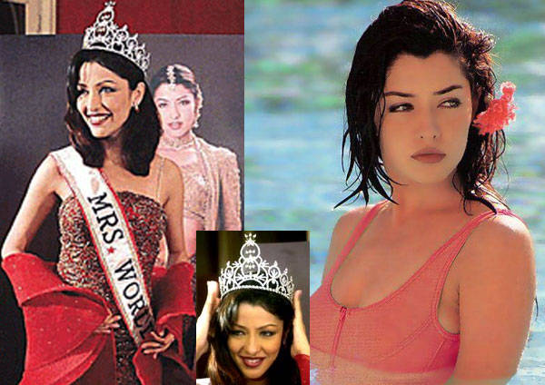 This former Mrs. World winner and Hindi film actress changed religion to marry her love