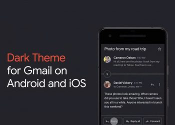 Gmail dark mode now available on iPhone and iPad