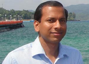 File photo of IAS officer Bijay Ketan Upadhyay