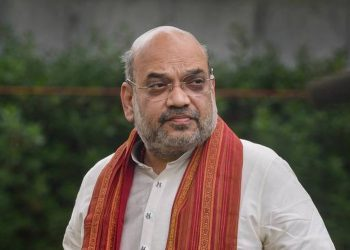 Home Minister Amit Shah. Pic courtesy: The Hindu