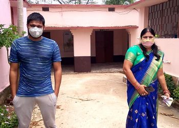 CM praises lady sarpanch Nandita Sahu for asking son go in quarantine at village facility