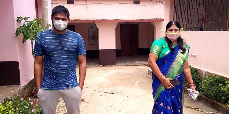 CM praises lady sarpanch Nandita Sahu for asking son go in quarantine at village facility
