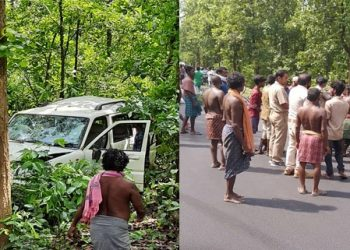 Child killed, another injured in Angul district road mishap