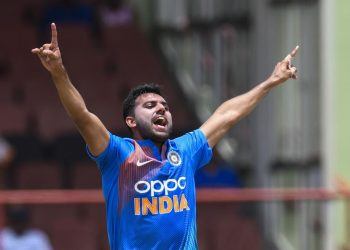 Deepak Chahar. Pic courtesy: AFP/Scroll.in