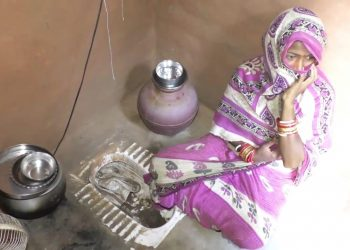 Despite being a panchayat ward member, Nayagarh woman lives in a toilet