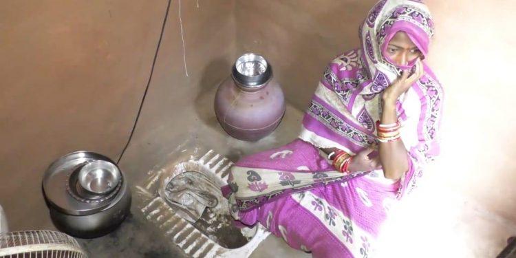 Despite being a panchayat ward member, Nayagarh woman lives in a toilet