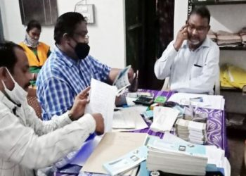 Divisional forest officer and range officer caught for taking bribe in Bolangir