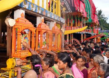 Goddess Laxmi to break part of Nandighosh today as part of Hera Panchami ritual