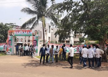 Group clash at Congress Bhawan over selection of Odisha Youth Congress president