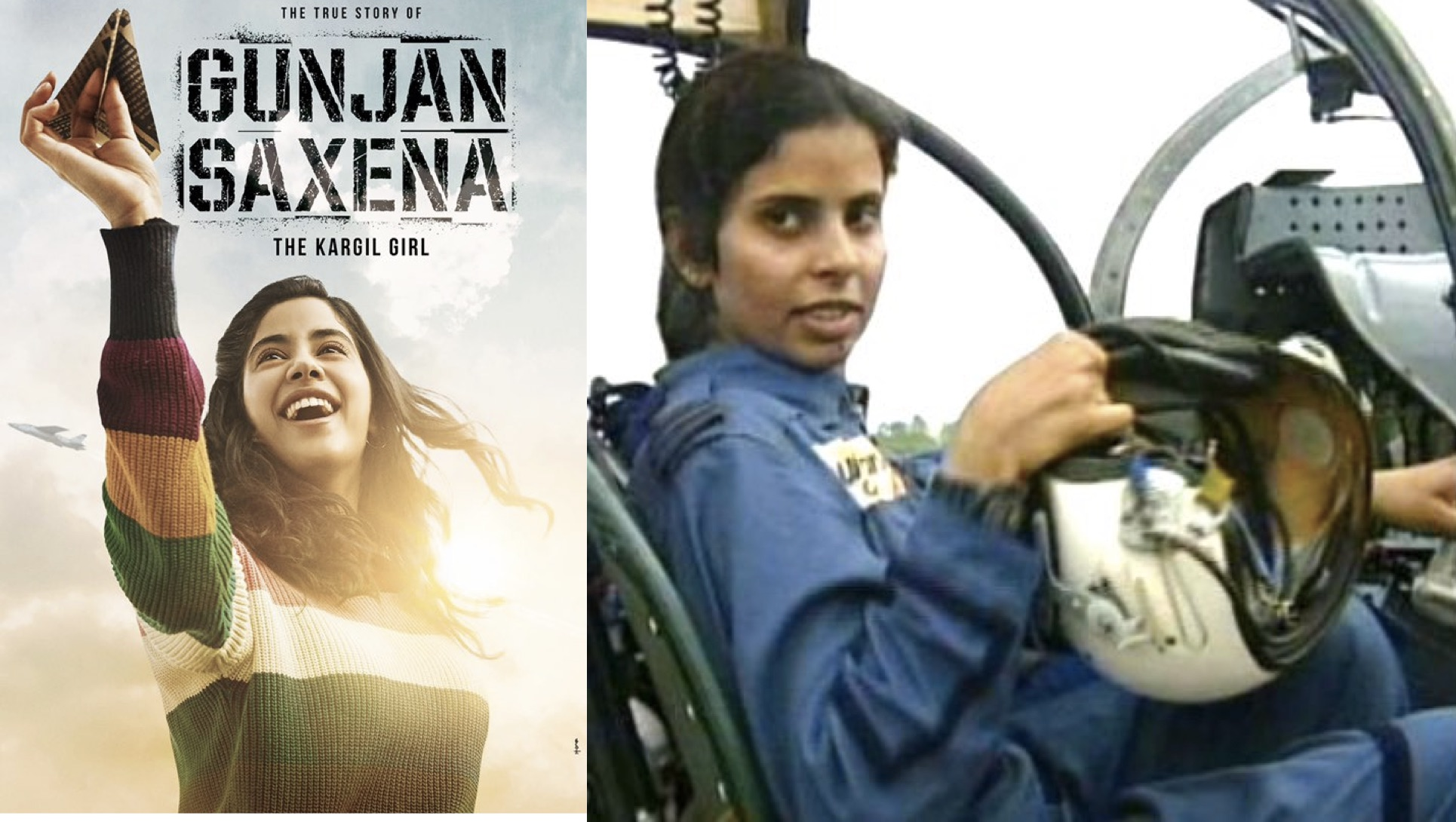 This Is What Gunjan Saxena Had To Say To Janhvi Kapoor After Teaser Release Of Gunjan Saxena The Kargil Girl Orissapost