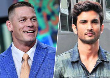 WWE champion John Cena pays tribute to Sushant Singh Rajput