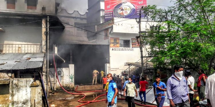 Major fire breaks out in Puri coir factory; properties, raw material worth Rs 50 lakh gutted