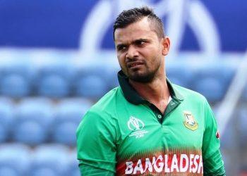 Former Bangladesh captain Mashrafe Mortaza. Pic courtesy: IANS/The Quint