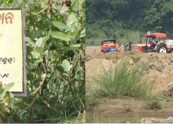 Sand mafia incurring Udala Rs50k loss daily