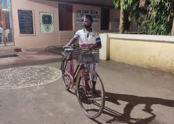 WB man cycles back to Angul for a living