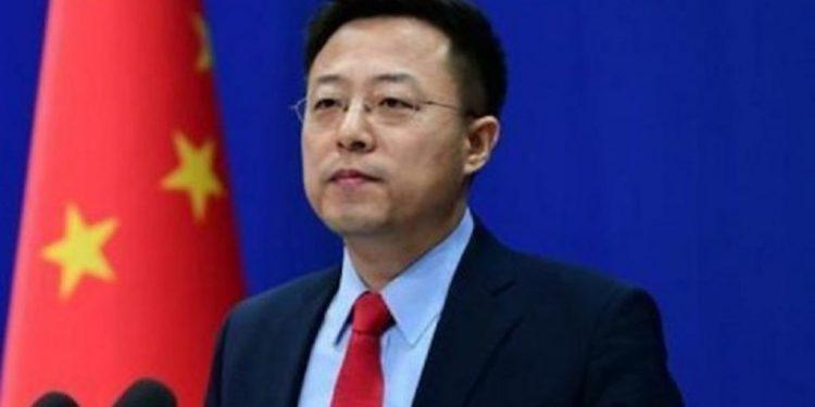 Foreign Ministry spokesman Zhao Lijian