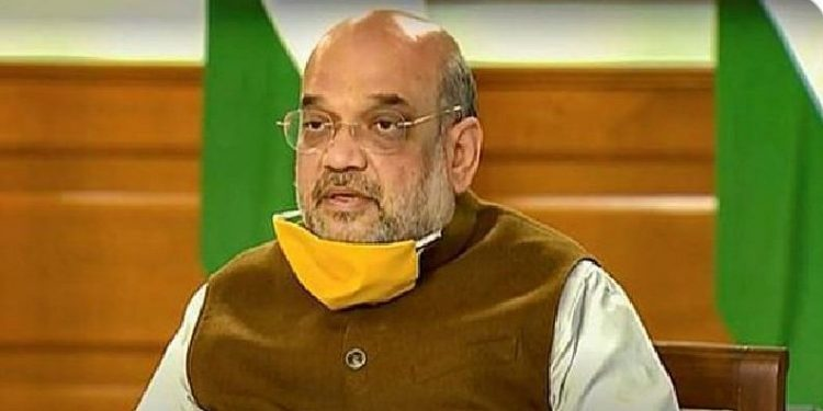Union Home Minister Amit Shah. Pic courtesy: National Herald