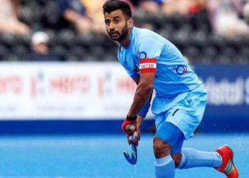 Manpreet Singh (Image courtesy: PTI)