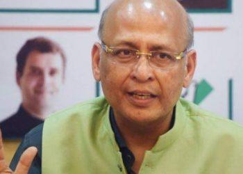 Abhishek Manu Singhvi (Image courtesy: PTI)