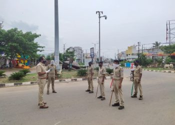 Berhampur's main entry point sealed
