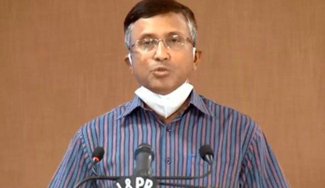 File photo of Chief Secretary Asit Kumar Tripathy
