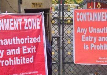 Malgodown, Behera Sahi in Cuttack declared as containment zones