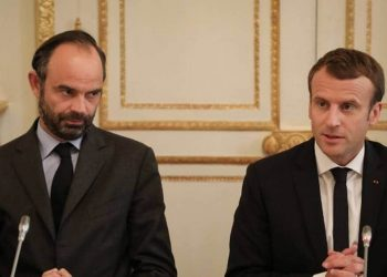 Edouard Philippe and Emmanuel Macron
