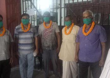 Five prisoners serving life sentences walk out of jail for good behavior in Bhadrak