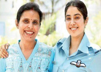 janhvi Kapoor and Gunjan Saxena