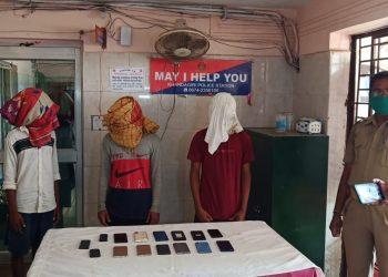 Three arrested forrobbery in Bhubaneswar