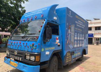 New York Doctor donates mobile COVID-19 testing van to Ganjam district