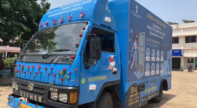 New York Doctor donates mobile COVID-19 testing van to Ganjam district