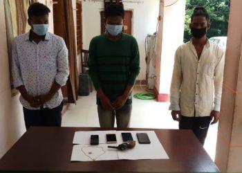 Three gold chain snatchers arrested in Bhubaneswar