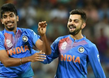 Virat Kohli and Jasprit Bumrah