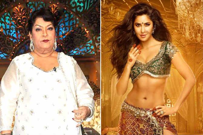 RIP choreographer Saroj Khan was removed from Hindi film due to Katrina Kaif