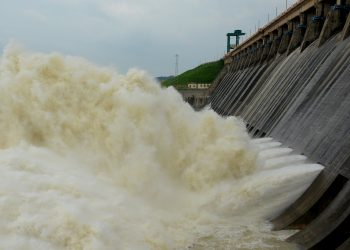 12 sluice gates opened at Hirakud dam to release flood water