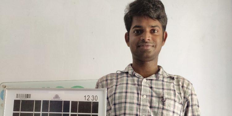 K Gautan, a student from BSDU, Jaipur develops UV-E SAFE kit to fight Covid19